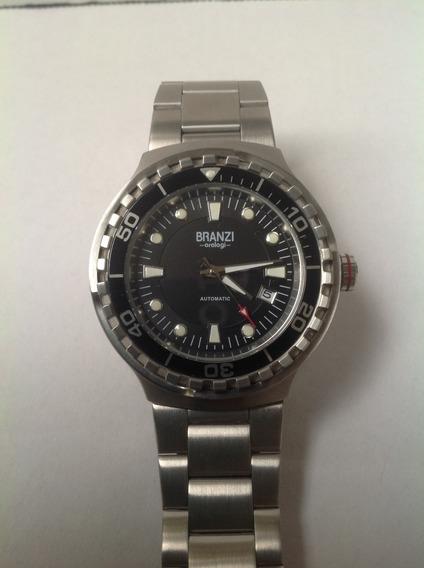 Reloj Branzi By Citizen Automatico 21 Joyas Acero