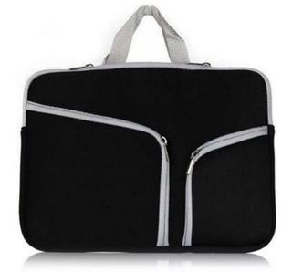 Funda Para Laptop 15.6 Pulgadas 15 Pulgadas De Neopreno Con Asas Y Compartimentos Para Accesorios