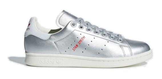 Tenis adidas Stan Smith Silver