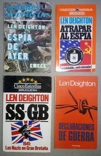 Len Deighton. Ss-gb, Espías, Declaraciones Guerra. Lote X 4