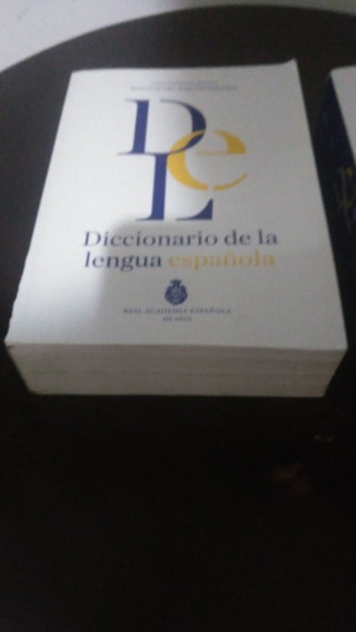 Dicionário Da Lingua Espanhola - Dois Volumes Real Academia