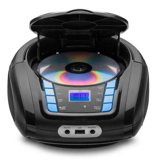 Radio Bluetooth Boombox Usb Sd Fm Aux P2 Branca Multilaser