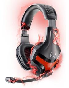 Headset Gamer Stereo 2.0 Para Jogos Cs Pb Lol Cf Ff