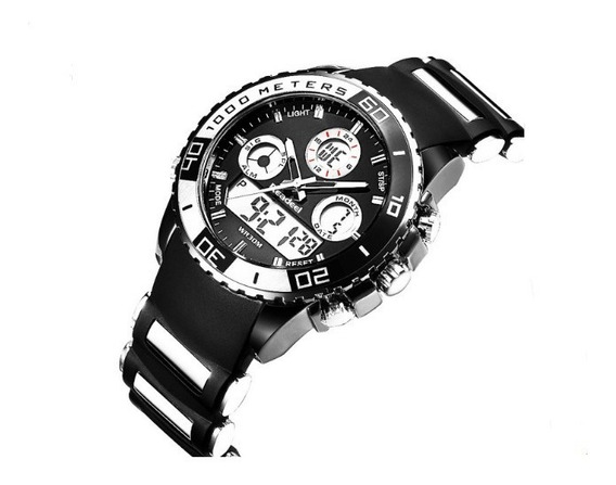 Relógio Pulso Readeel Masculino Top Luxo Barato Militar 7001