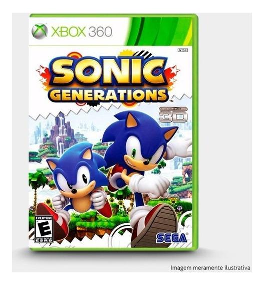 Sonic Generations - Original Xbox 360 - Novo