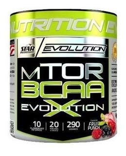 Aminoacidos Bcaa Mtor Evolution 290gr Star Nutrition