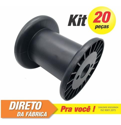 Imagem 1 de 3 de Carretel Plástico Abnt Nº03 - Kit C/ 20 Peças