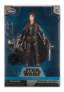 Star Wars - Jyn Erso - Rogue One - Die Cast Elite Series
