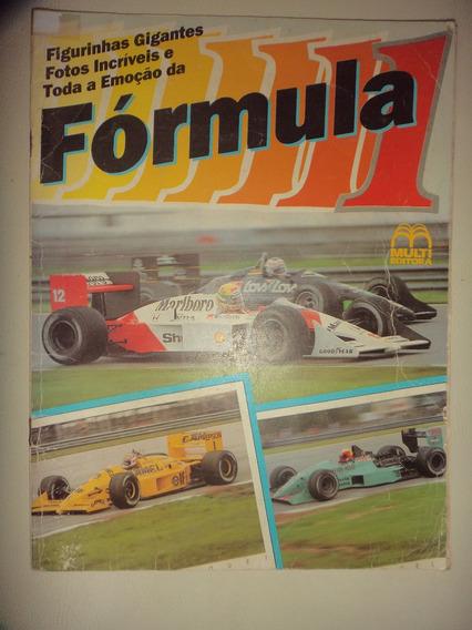 Album Formula 1 Multi Editora 1988 Faltam 47 De 209 Otimas