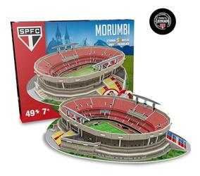 Mini Estádio Do São Paulo 2019 Morumbi 3d Maquete P/ Montar