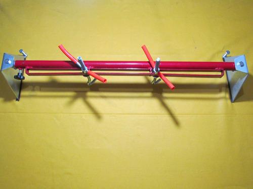 Imagem 1 de 8 de Suporte Para Motor 2 Ganchos Articulado Maberfix Especial