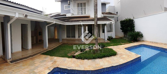 Casa À Venda, 296 M² Por R$ 989.990,00 - Jardim Residencial Copacabana - Rio Claro/sp - Ca0858