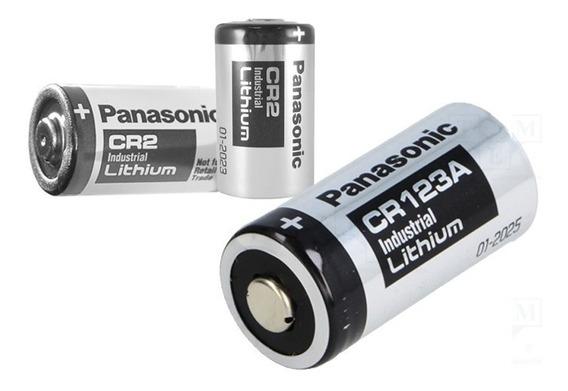 Bateria Panasonic Cr 123a - 1400 Mah