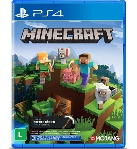 Minecraft Starter Collection Ps4 Playstation 4 Novo Lacrado