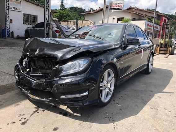 Sucata Mercedes C350 V6 Cgi 2012 Venda De Peças