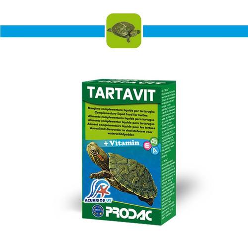 Alimento Líquido Vitamínico Tortugas. Prodac Tartavit 30ml