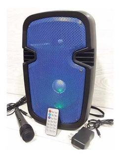 Parlante Sonivox 8 Pulgadas Recargable, Microfono+bluetooth