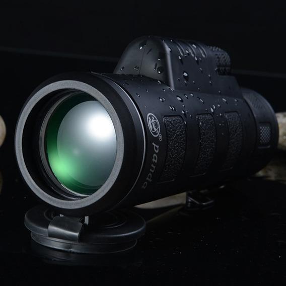 40x60 Bak4 Mini Noite Visão Monocular Telescópio Hd Visão