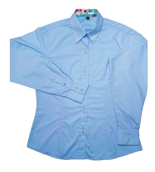 Camisa Social Feminina Moda Evangélica 38 40 42 44 46