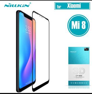 Película De Vidro Temperado Nillkin Full 3d Para Xiaomi Mi 8