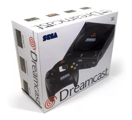 Caixa Vazia Sega Dreamcast Sport De Madeira Mdf