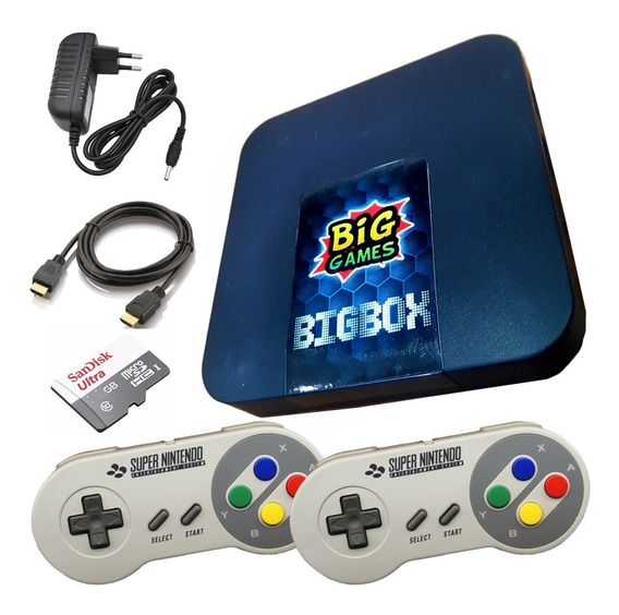 Video Game Retrobox Big Games 12mil Jogos So Ligar Na Tv