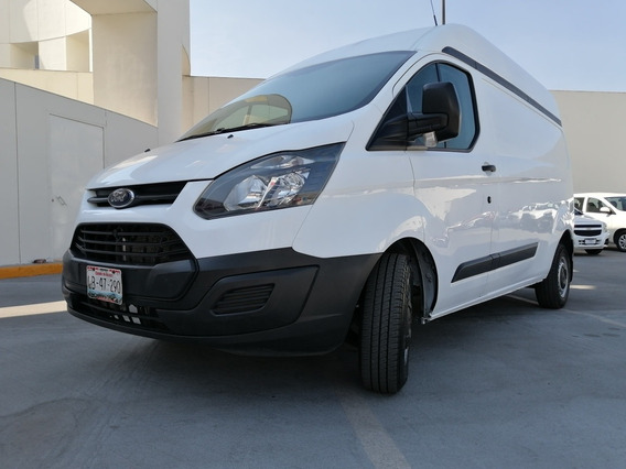 Ford Transit 2.2 Van Larga Techo Alto Aa Custom Mt 2016