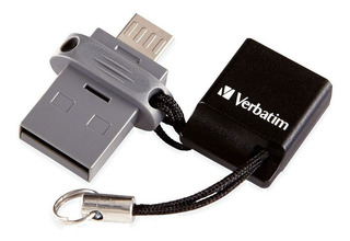 Verbatim 99140 Pendrive Dual Usb / Micro Usb Otg 64gb 2.0