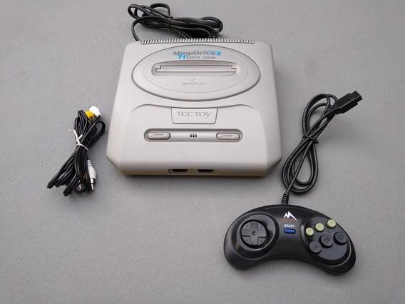 Console Mega Drive 3 Com 71 Super Jogos Na Memória