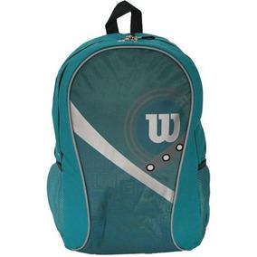 Mochila Escolar Wilson Azul E Cinza 45cm. Wilson Unidade