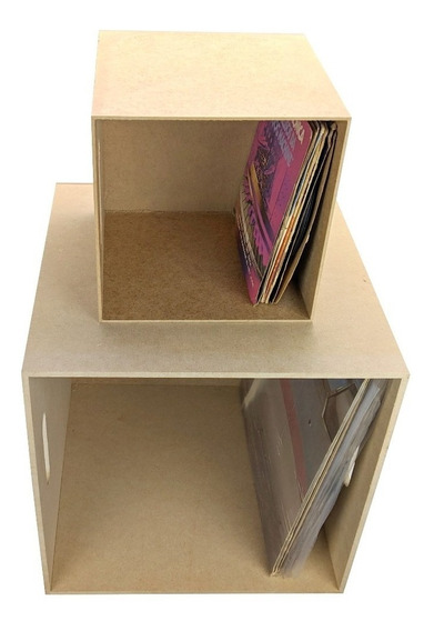 Caixa Para Disco / Lp / Vinil E Compactos Frete Grátis Sp