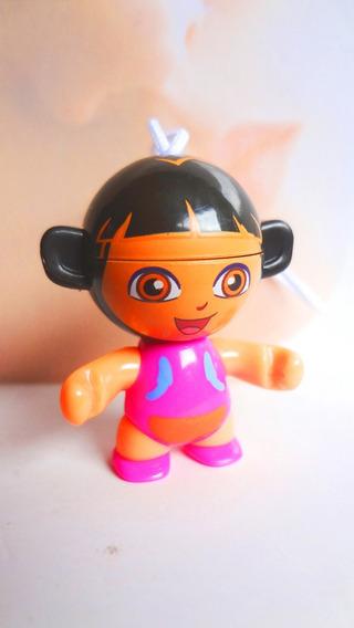Figura De Huevo Kinder De Dora Vestido Morado
