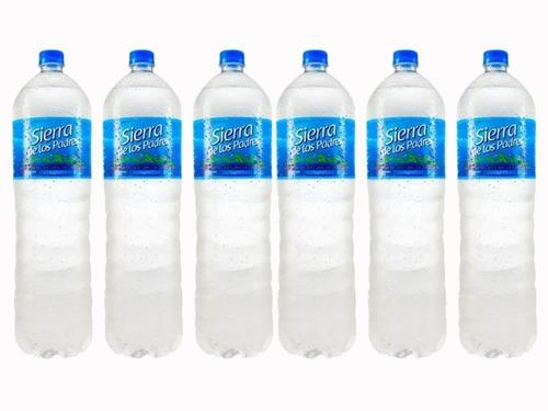 Agua Mineral Sierra De Los Padres 2l X6 U - La Golosineria