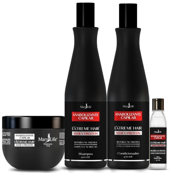 Kit Shampoo Extreme Hair Anabolizante Capilar # Original
