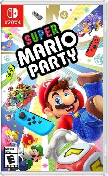 Super Mario Party - Jogo Nintendo Switch - Mídia Física