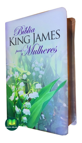 Imagem 1 de 6 de Bíblia De Estudo Da Mulher King James 1611 Capa Luxo
