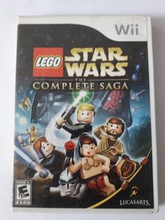 Juego Nintendo Wii Lego Star Wars Saga Completa. Disco 8/10