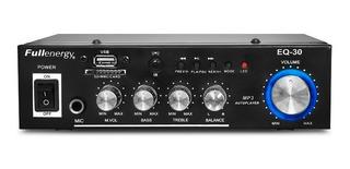 Amplificador Reproductor De Mp3 Sd Y Usb Y Mic 12v / 220v