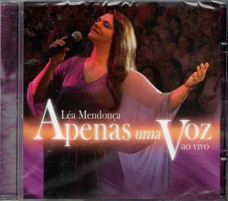 Cd Léa Mendonça - Apenas Uma Voz - Ao Vivo