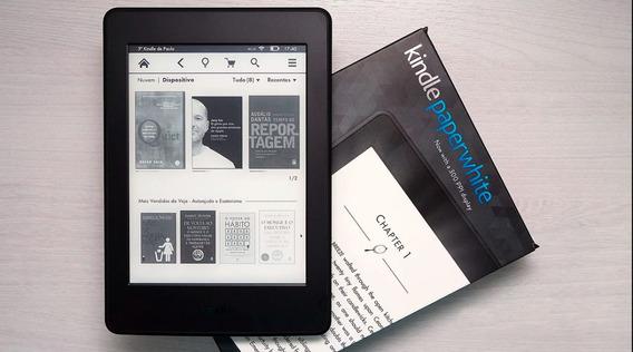Kindle Paperwhite 2018 Wi-fi + 3g Grátis + Capa De Couro
