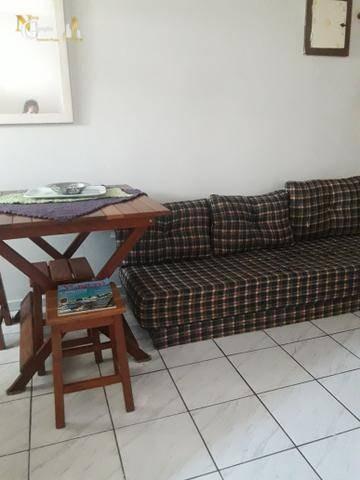 Kitnet Com 1 Dormitório À Venda, 35 M² Por R$ 92.000 - Ocian - Praia Grande/sp - Kn0257