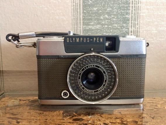 Câmera Olympus Pen Ee-2 Revisada Meio Quadro Dobro De Fotos