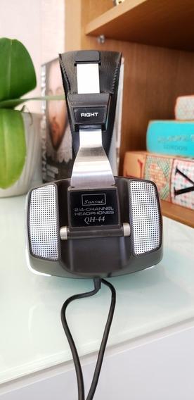 Sansui Qrx 9001 Headphone Qh-44 2 E 4 Ch. Ótimo Estado