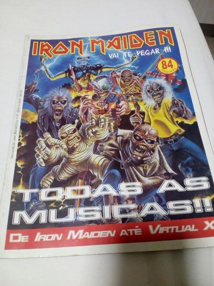 Revista Antiga Rara Do Iron Maiden