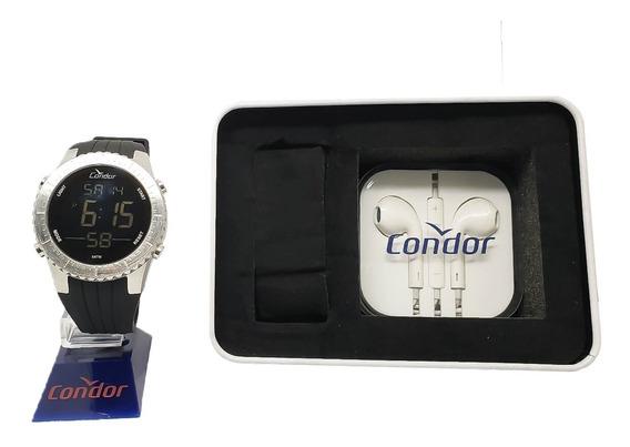 Relógio Masculino Condor Cobj3463ac/k3k + Brinde Original Nf