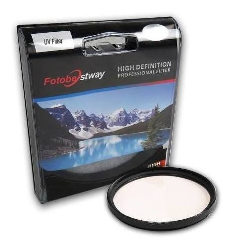 Filtro Proteção Uv 43mm Fotobestway Câmera Fotográfica