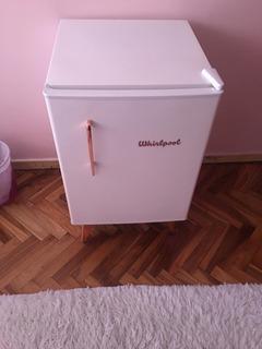 Heladera Bajo Mesada Whirlpool Retro Vintage Blanca