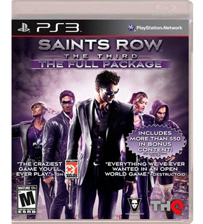 Ps3 Juego Saints Row The Third The Full Package