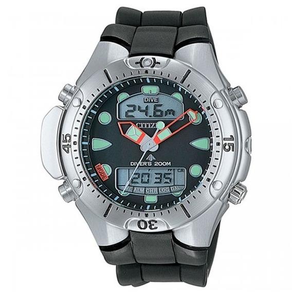 Relógio Citizen Masculino Aqualand Jp1060-01e Prata