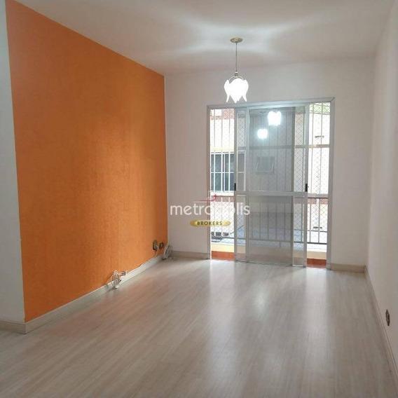 Apartamento Com 2 Dormitórios À Venda, 70 M² Por R$ 360.000,00 - Santo Antônio - São Caetano Do Sul/sp - Ap2733